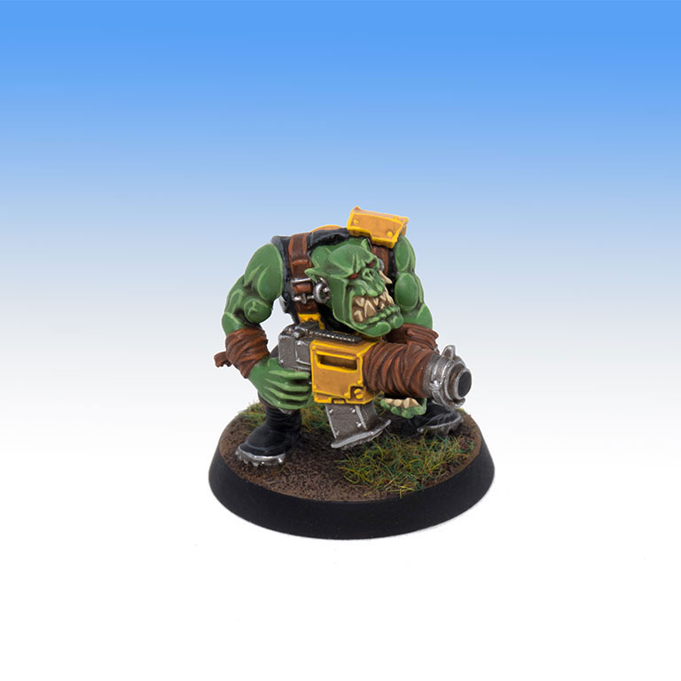Bad Moons Ork Boy - Tabletop Level Painting Commission