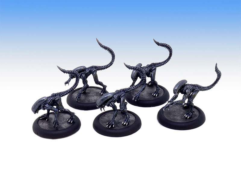 Alien Stalkers - Tabletop Level Painting Commission