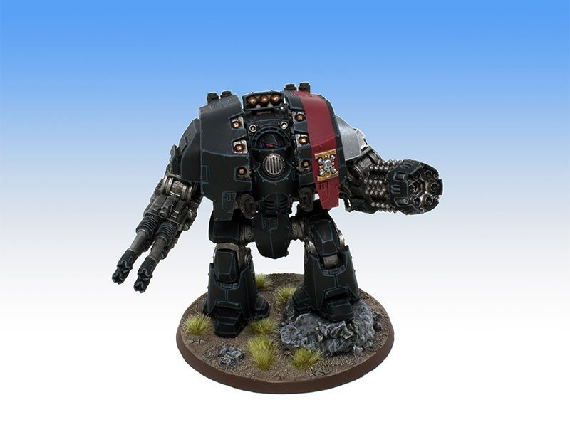 Deathwatch Leviathan Dreadnought - Tabletop Level Painting Commission