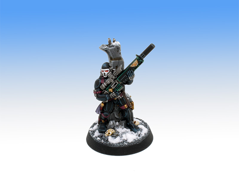 Vindicare Assassin - Character Level Painting Commission