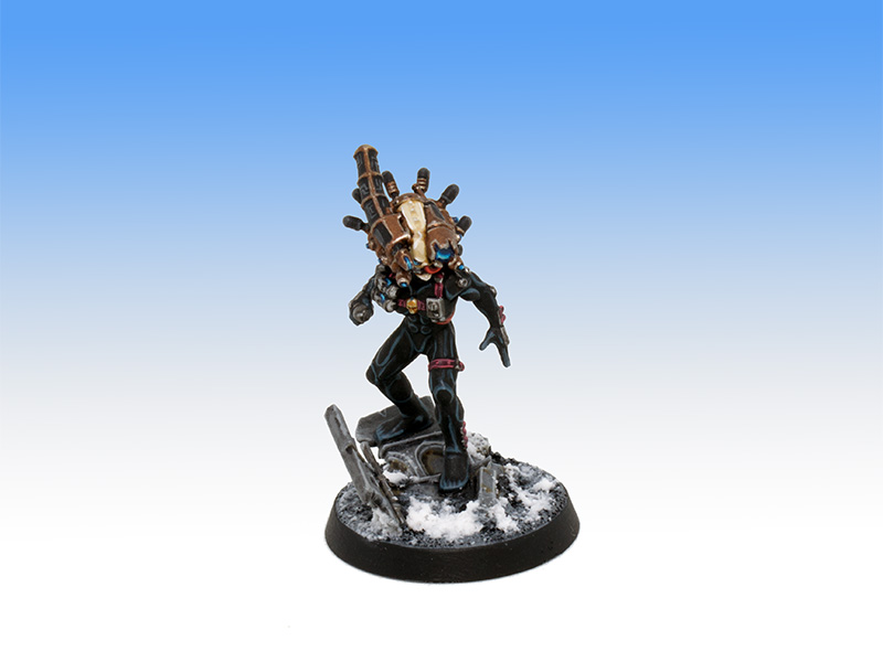Culexeus Assassin - Character Level Painting Commission