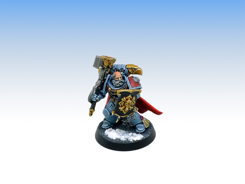 Space Wolves Wolf Lord - Character Level Painting Commission