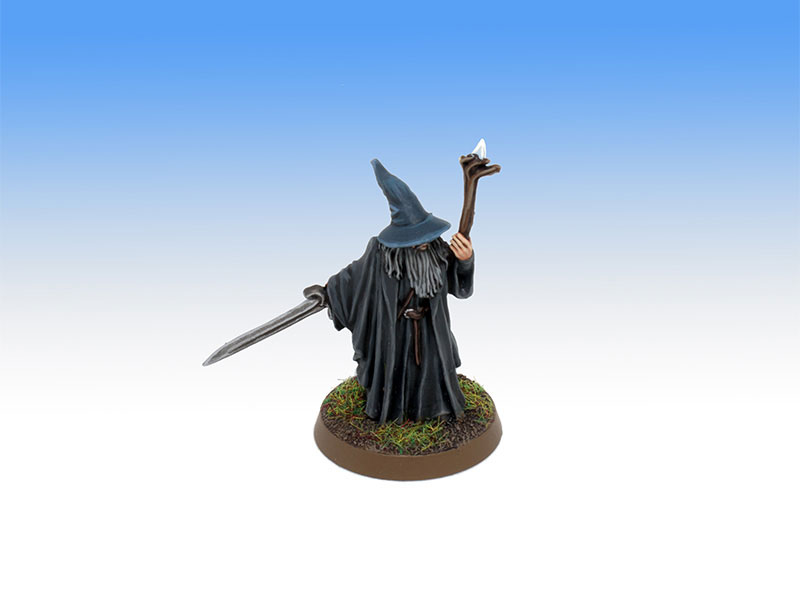 Gandalf on Foot - Character Level Painting Commission