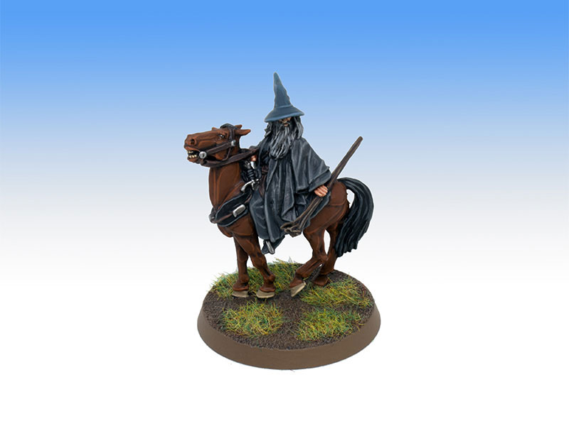 Gandalf on Horseback - Character Level Painting Commission