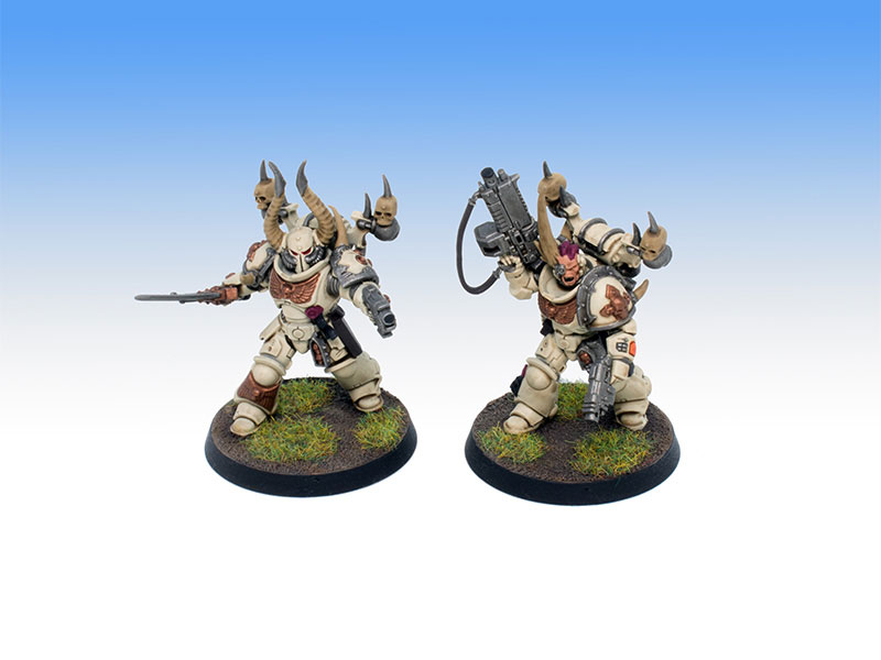Renegade Primaris Lieutenants - Battle Ready Painting Commission