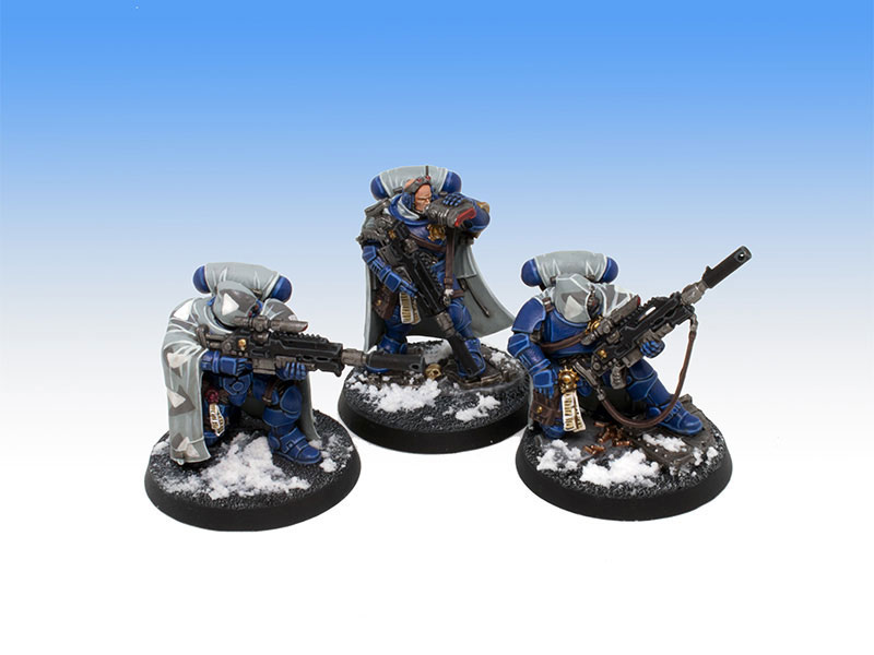 Ultramarines Primaris Eliminators - Tabletop Level Painting Commission