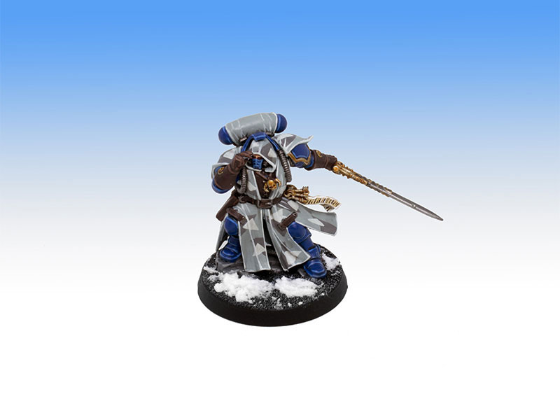 Ultramarines Phobos Librarian - Tabletop Level Painting Commission