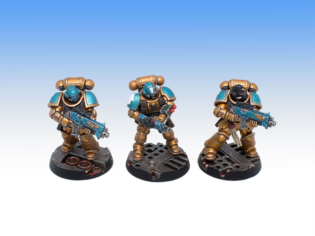 Primaris Intercessors and Infiltrator - Character Level Painting Commission