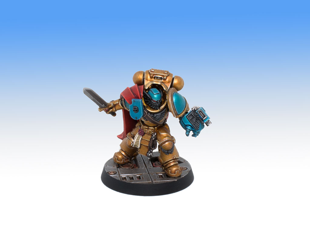 Converted Gravis Captain - Character Level Painting Commission