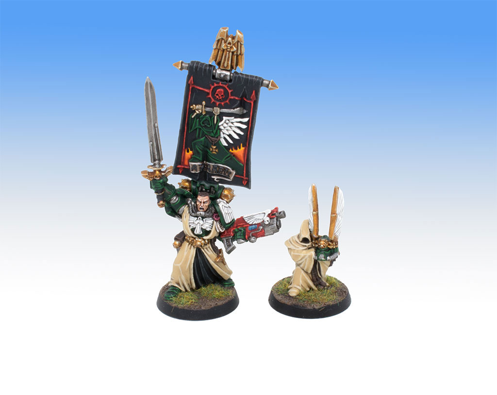 Supreme Grand Master Azrael and Watcher in the Dark - Tabletop Level Painting Commission