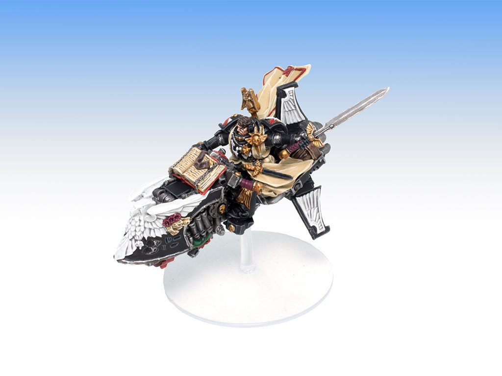 Grand Master Sammael on Corvex - Tabletop Level Painting Commission