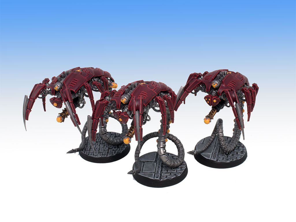 Necron Wraiths - Tabletop Level Painting Commission
