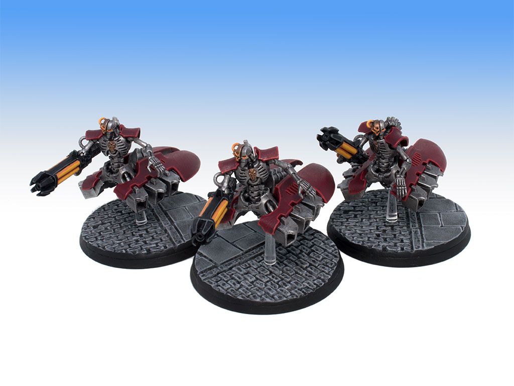 Necron Destroyers - Tabletop Level Painting Commission