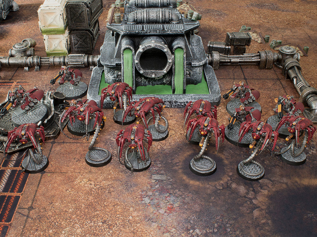 Necron Assault Force - Tabletop Level Painting Commission